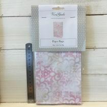 ViviGade - Paperbags Rosa, Vitt Mönster