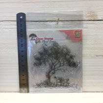 Nellie Snellen - Clear Stamp - IFS007 Tree with bench