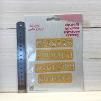 Nellie Snellen - Shape Dies - SD079 Alphabet-2 small