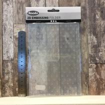 Tools - 2D Embossing Folder - 11775