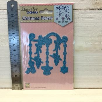 Nellie Snellen - Shape Dies - SDB055 Christmas hanger -