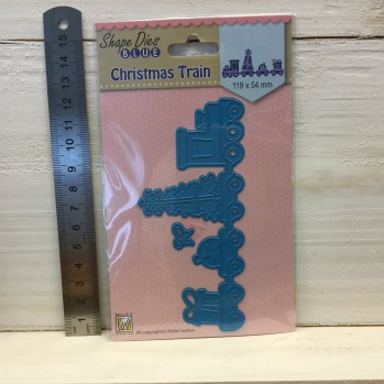 Nellie Snellen - Shape Dies - SDB062 Christmas train -