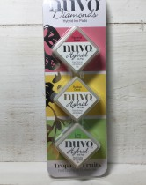 Tonic Studios Nuvo Diamond Hybrid Ink Pads - Tropical Fruits