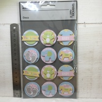 Happy Moments - Deco - 3D Stickers 12st