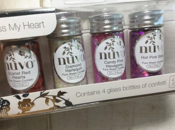 Tonic Studios Nuvo Confetti - Cross My Heart -