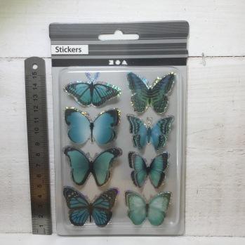 Stickers Fjärilar -
