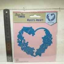 Nellie Snellen - Shape Dies - SDB006 Roses Heart