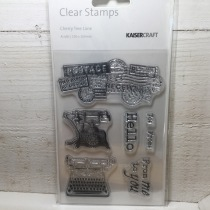 Kaisercraft - Clear Stamps - Cherry Tree Lane