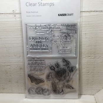 Kaisercraft - Clear Stamps - Rose Avenue -