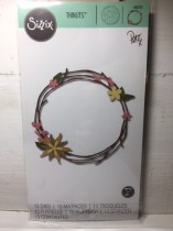 Sizzix Thinlits Die Set 13PK - Pretty Wreath
