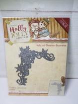 Holly jolly Christmas decoration