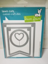 Lawn fawn stitched party bananer