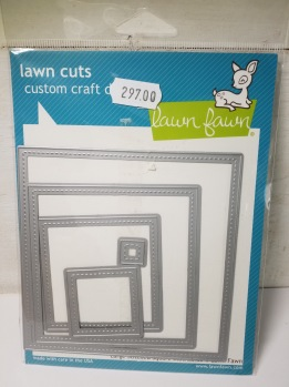 Lawn fawn larce stitched square -