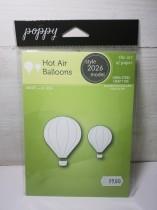 Poppy dies hot Air balloons