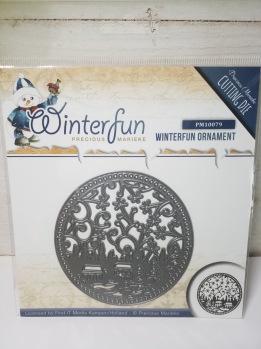 Winterfun ornament -