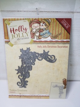 Holly jolly Christmas decoration -