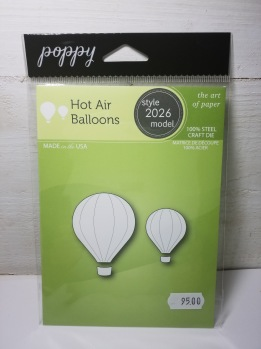 Poppy dies hot Air balloons -