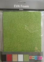 Mossgummi A5 15x21 självhäftande glittriga