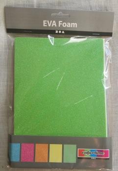 Mossgummi A5 15x21 glittriga -