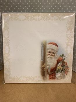 12 papper ca 14,5x14,5 cm -