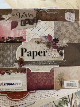 Block med härliga papper, 15x15 cm -