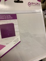 3D embossing folder gran