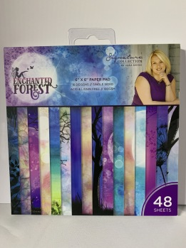 Sara Signature Collection Enchanted Forest - 6 x 6 Paper Pad -