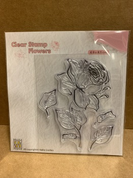 Clearstamps Flowers -