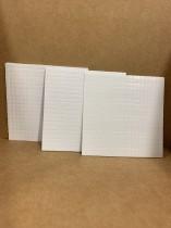 3-pack med häftkuddar 1,2 och 3 mm.