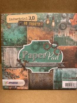Block med papper 15x15 cm -