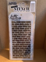 Stencil Tim Holtz Bricked THS038