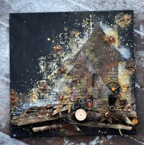 Mixed media kurs, söndag 24/3 kl 10-15 - Canvas