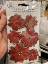 Blommor från prima jul 6 st