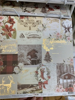 Prima Christmas in the country 12x12 -