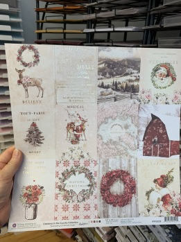 Prima-Christmas in the country 12x12 -