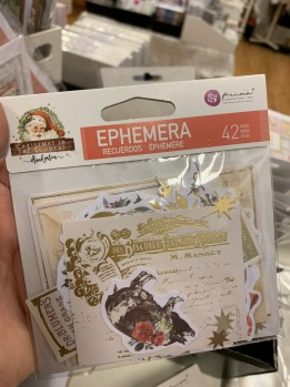 Christmas in the country - Ephemera 42 delar -