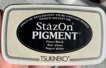 Staz on pigment svart