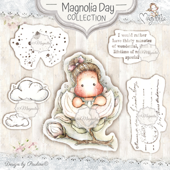 Magnolia Day Art Stamp Kit
