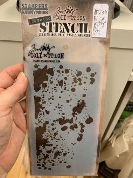 Stencil Tim Holt THS130