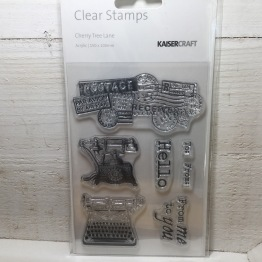 Kaisercraft - Clear Stamps - Cherry Tree Lane -