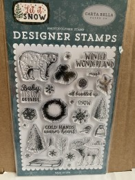 Carta Bella clearstamps -