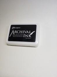 Archival Inkpad, vattenfast stämpeldyna från Ranger -