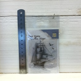 Nellie Snellen - Clear Stamp - CSMT008 Sailingboat -