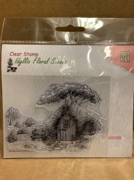 Clearstamps Idyllic Floral Scenes -