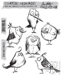Tim Holtz Stampers Anonymous - Bird Crazy -