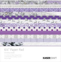 Kaisercraft Christmas Jewel block 6,5x6,5 -