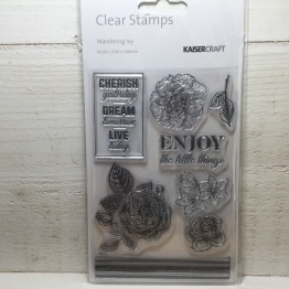 Kaisercraft - Clear Stamps - Wandering Ivy -
