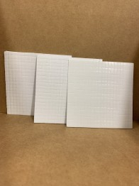 3-pack med 3D-kuddar 1,2 och 3 mm. -