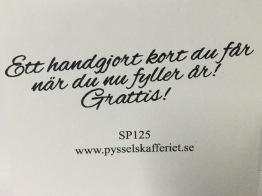 SP125 -