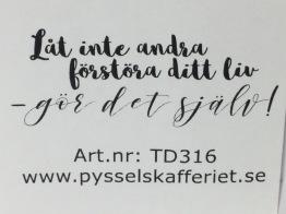 TD316 -